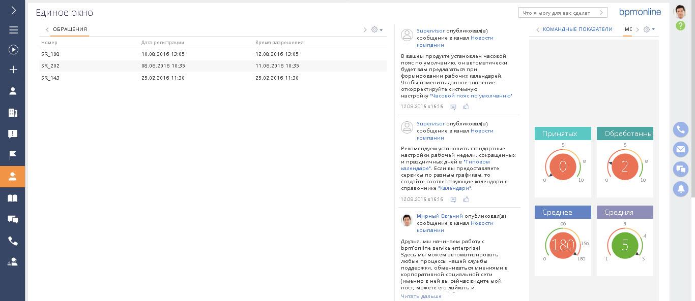 Контакт-центрв СRM