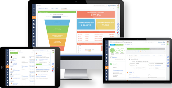 CRM bpm'online бизнес технологии