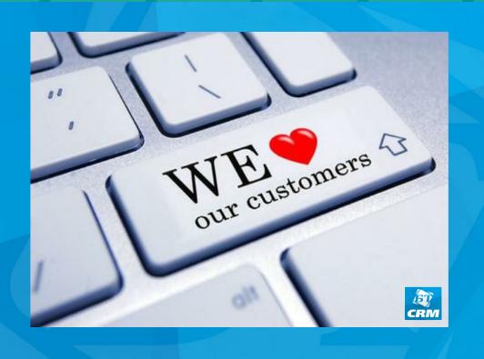 We love our customers Бизнес Технологии, CRM