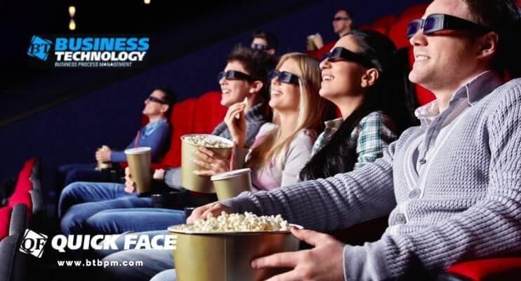 """Кейс применения системы распознавания лиц """"Quick Face"""" в Кинотеатре"""