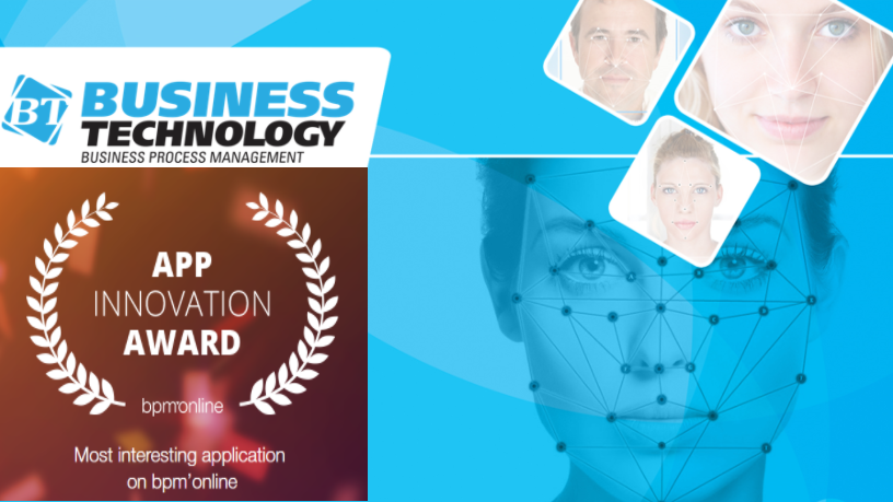 Quick Face of Business Technology wins inaugural bpm'online App Innovation Award 2017 Бизнес Технологии внедрение CRM