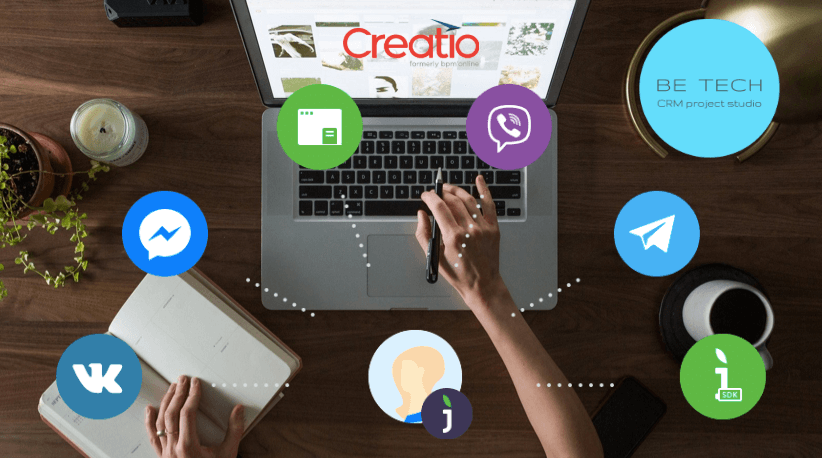 Be Tech - CRM коннектор Creatio к Живосайт