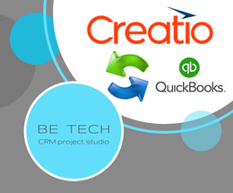 crm creatio and quick books